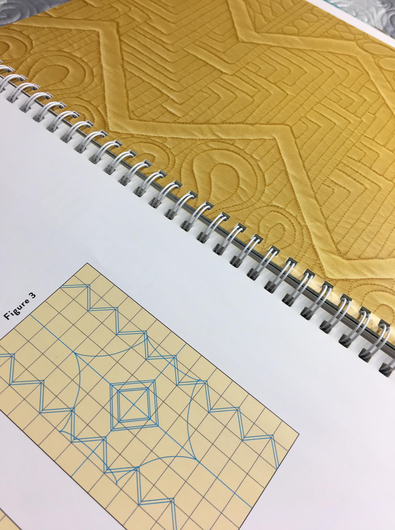 Book Inside - LongArm Quilting Workbook
