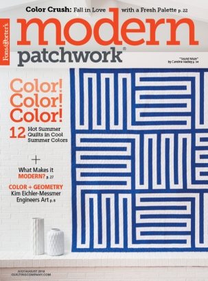 Modern Patchwork Cover