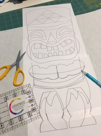 Tiki Drawings