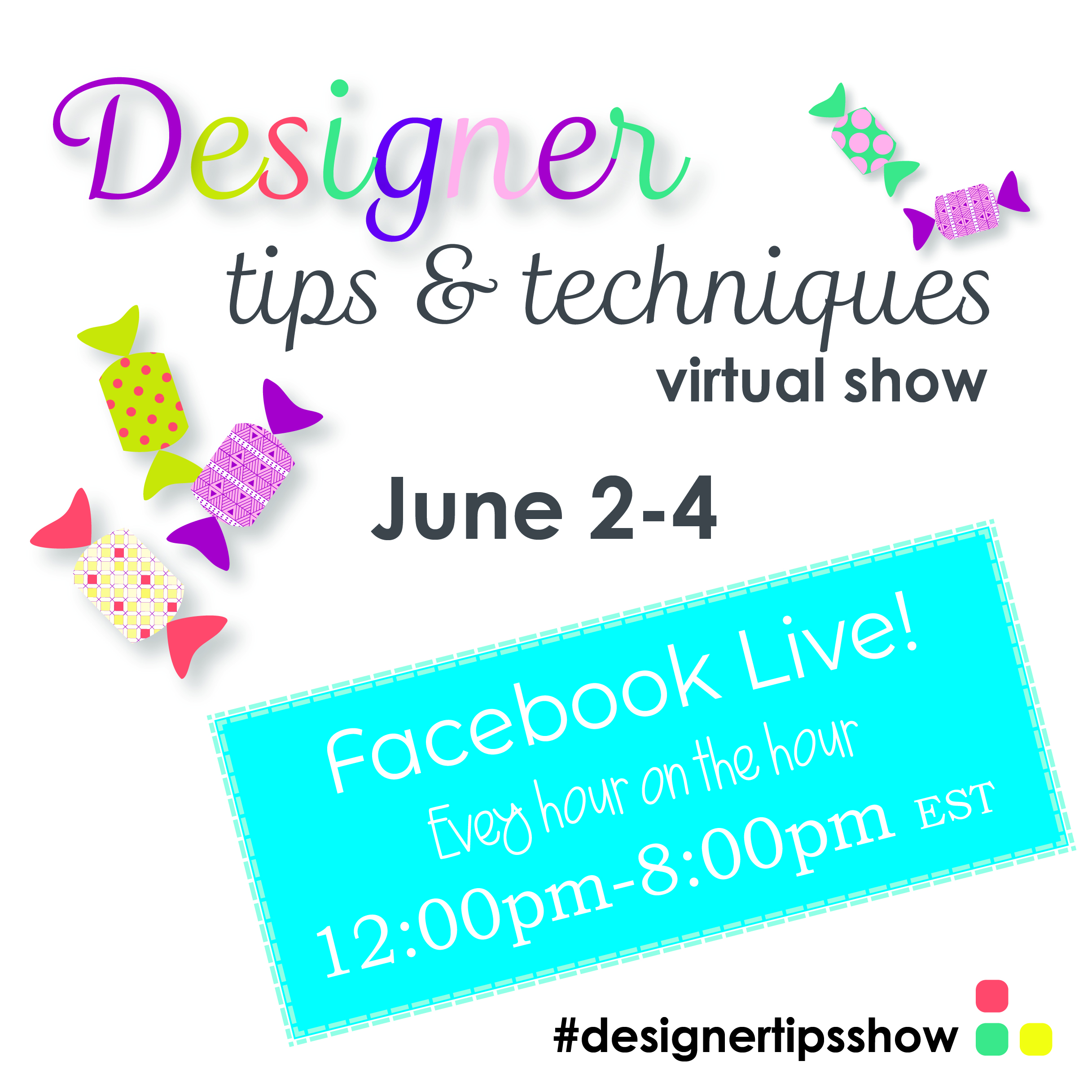 Designer Tips Badge Square